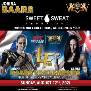 Tomorrow @jojorinab will step into the ring to defend her world titel. Jorina, show the world who's still the best and take that belt back home. 👊🥇💦  Don't miss this event of @lionfightofficial  Watch it on @ufcfightpass Sunday evening 19.00 Scotland time   🎬 @kenneth_fotografie_nl  #SweetSweat #Results #cardioworkout #sweetsweatnederland #waisttrimmer #buikspieren #afvallen #zweet #zweetband #crossfit #cardio #fitness #warmup #followme #motivatie #afslankband #beachbody #summerbody #killerbody #bodysculpting #gezondafvallen #fitness #waistshaper #workout #workoutmotivation #fitdutchies #coronakilos #loopbands #kickboxing #trimmercleaningspray #saunabelt